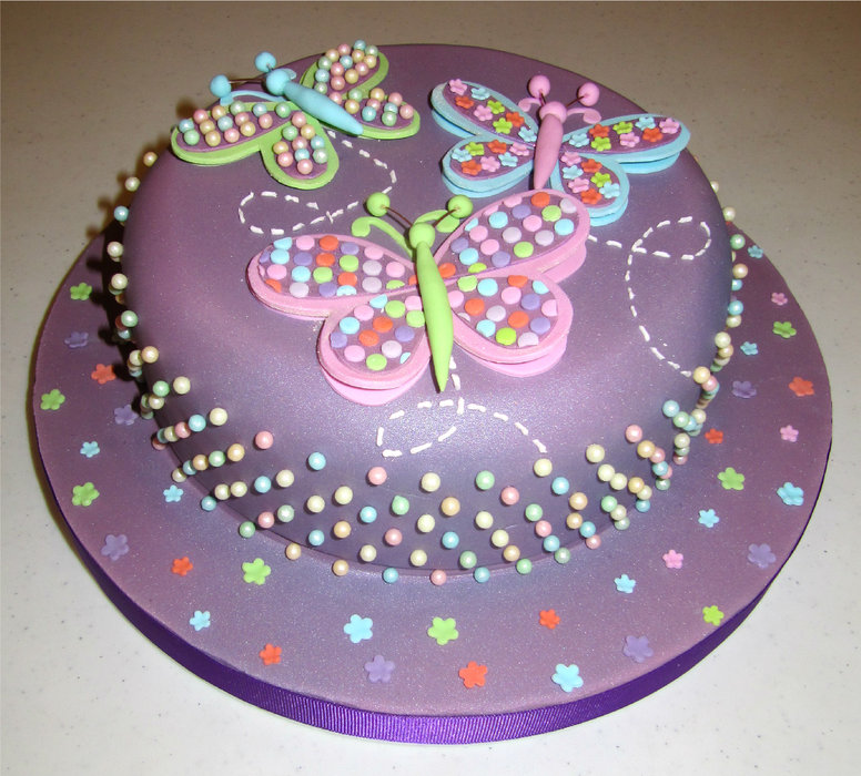 Cake Images Butterfly Prezup for