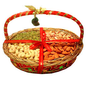 Mix dry fruit basket Price: for 1/2 kg