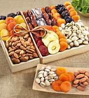 Dry Fruits tray with chocolates