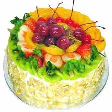 5 star 1 kg Fresh fruit cake