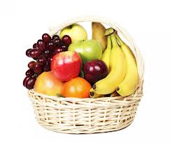 Basket of 2kg.fruits
